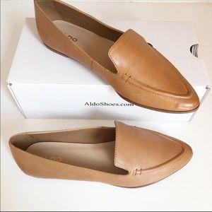 NEW in BOX ALDO Cadiella Leather Flats SZ 7.5